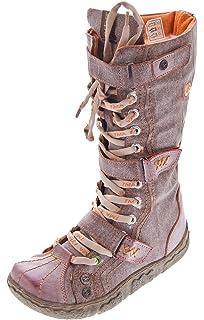 TMA - Zapato de Media Ca?a Mujer, Color Negro, Talla 38