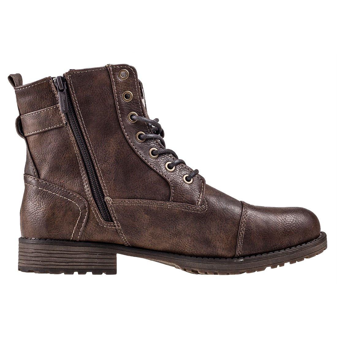 Mustang Herren Stiefel Boot Klassische Stiefel Herren Braun (Mittelbraun 360) 017def