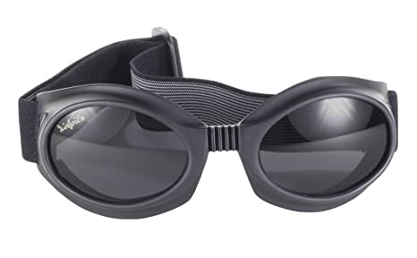 6176e94f85a Pacific Coast Airfoil Motorcycle Riding Goggles Lens Kit (Black Frame Smoke