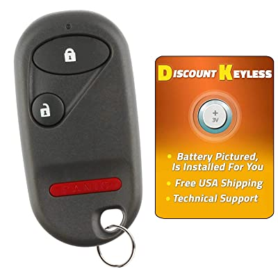 Discount Keyless Replacement Key Fob Car Entry Remote For Honda Civic Pilot NHVWB1U521, NHVWB1U523: Automotive