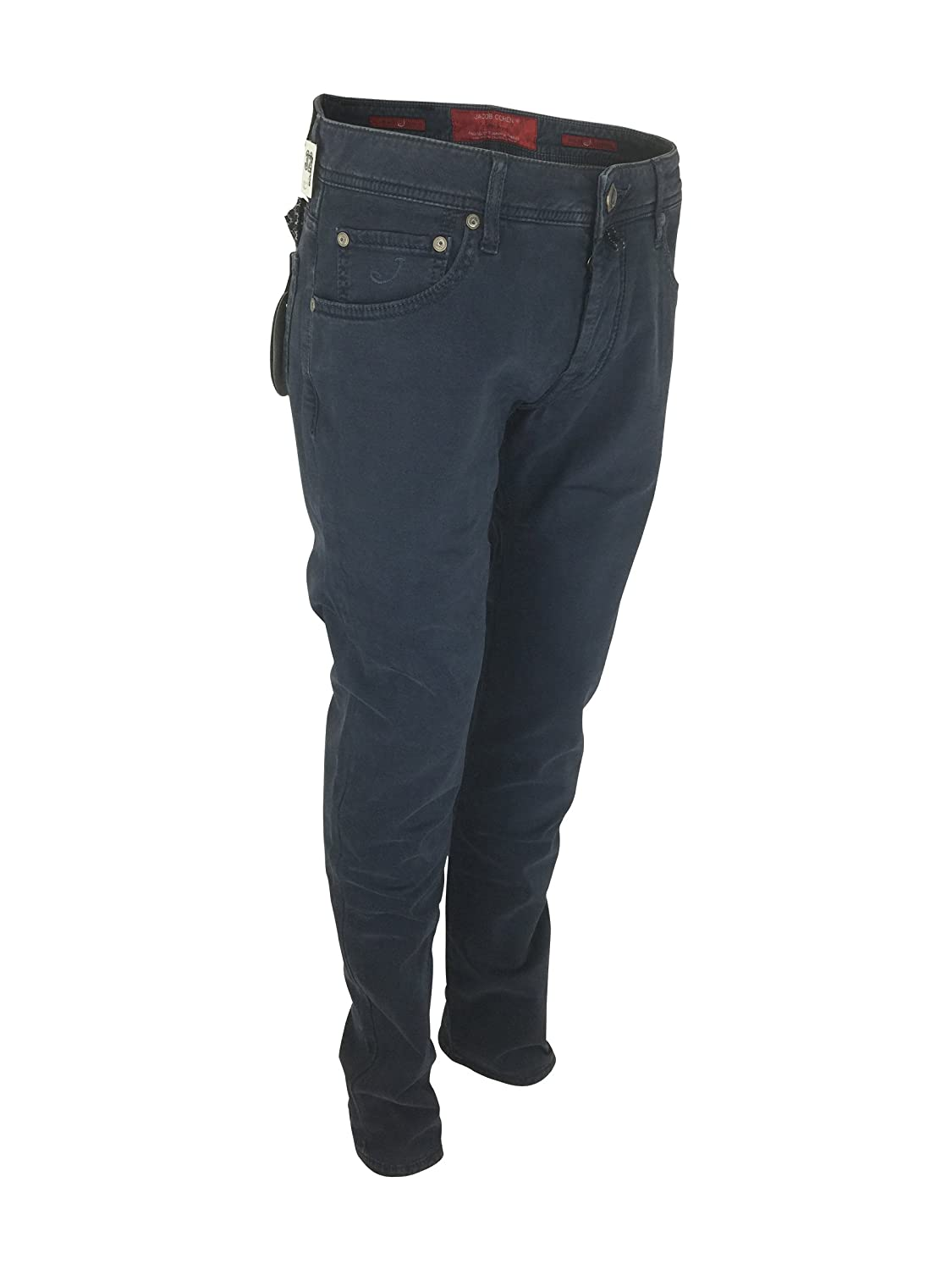 ed1e55755c694d Jacob Cohen J622 08871 920 Comfort Vintage Fit Chino Jeans in Blue W33:  Amazon.co.uk: Clothing