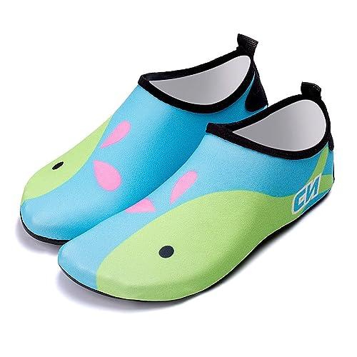 e737e9c68 Bmeigo Zapatos de Agua Calzado Aqua Calcetines de Playas Descalzos Secado  rápido para Niños Niñas Natación