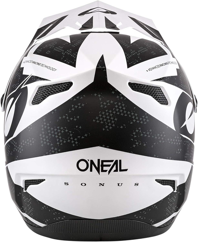 ONeal Sonus Deft Mountain Bike Helmet Black//White SM