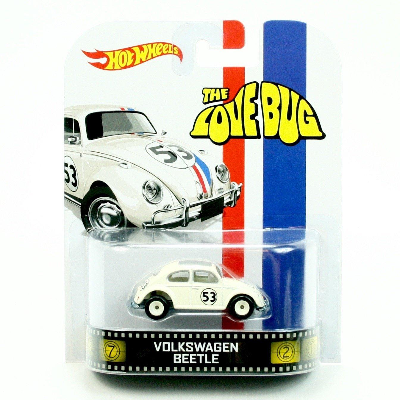 Amazon.com: VOLKSWAGEN BEETLE * HERBIE / THE LOVE BUG * Hot Wheels ...