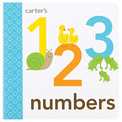 C.R. Gibson Number Book Numbers and Colors for Toddlers, 4.8 x 4.6 x 0.5 inches, 1 Piece : Baby Shape And Color Recognition Toys : Baby