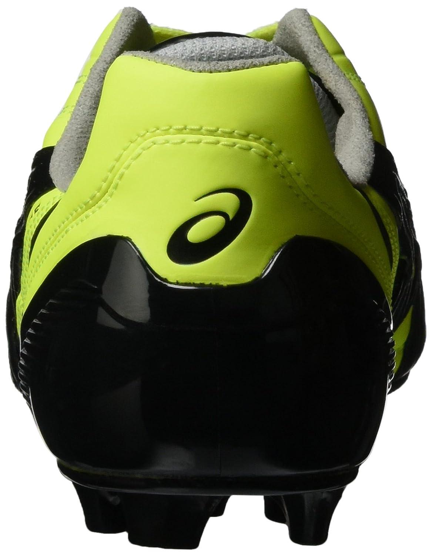 25ac9b51a Asics PY408 9454 Chaussures de football Tigreor IT, jaune fluo, noir et  argent -: Amazon.fr: High-tech