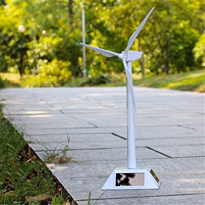 LWQ 2 in 1 Solar Wind Generator,Model and Exhibition Stand Windmill Educational Assembly Kit Desktop Decoration: Sports & Outdoors