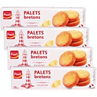法国进口Poult/波特 曲奇饼干【19年6月18到期】 休闲零食 早餐下午茶 (小圆饼125g*4)