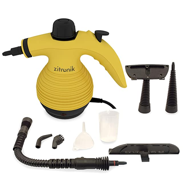 ZITRONIK Handheld Steam Cleaner for stain removal