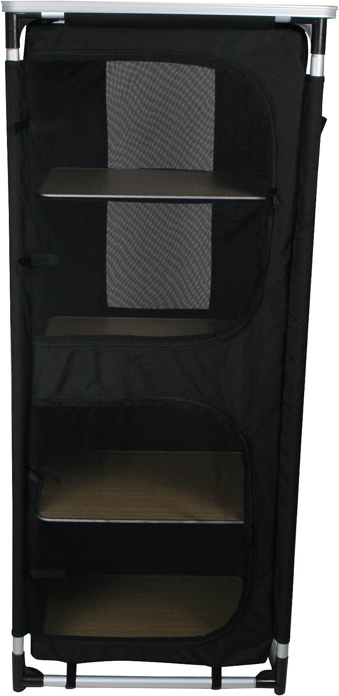10T Outdoor Equipment 10T Cambox Quattro Armario de Camping, Unisex-Adulto, Negro, Estándar