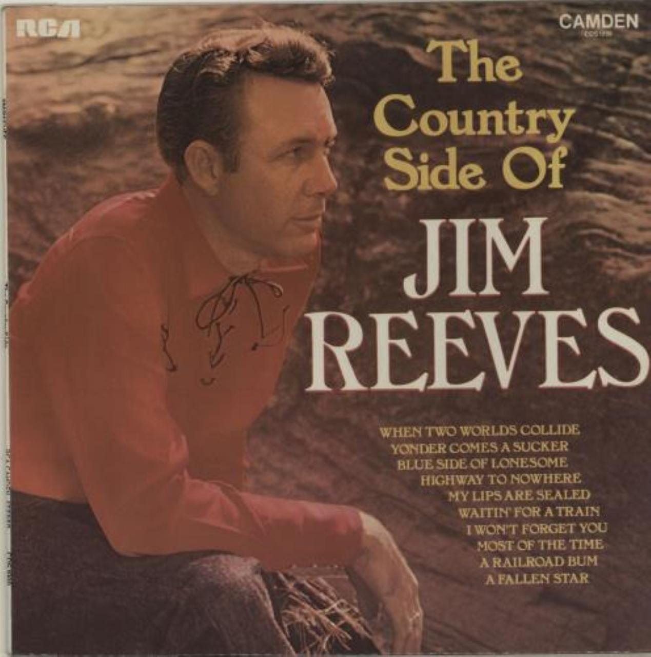 Jim Reeves - JIM REEVES - country side of RCA CAMDEN 1000 (LP vinyl ...