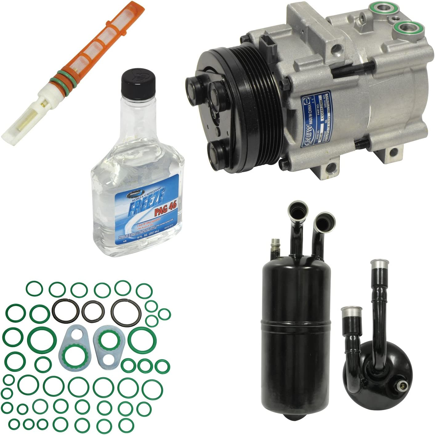 Universal Air Conditioner KT 2068 A//C Compressor and Component Kit