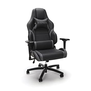 Remarkable Respawn 400 Big And Tall Racing Style Gaming Chair In Gray Rsp 400 Gry Cjindustries Chair Design For Home Cjindustriesco