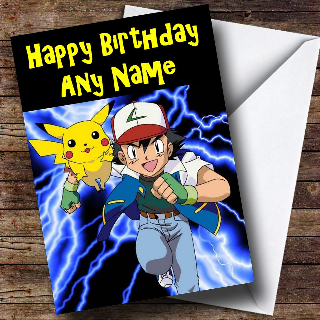 Personalised childrens kids character birthday card huge selection personalised childrens kids character birthday card huge selection any text amazon office products bookmarktalkfo Image collections