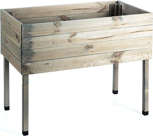 mygardenlust Bancal montar de madera con pantalla – barricas ...