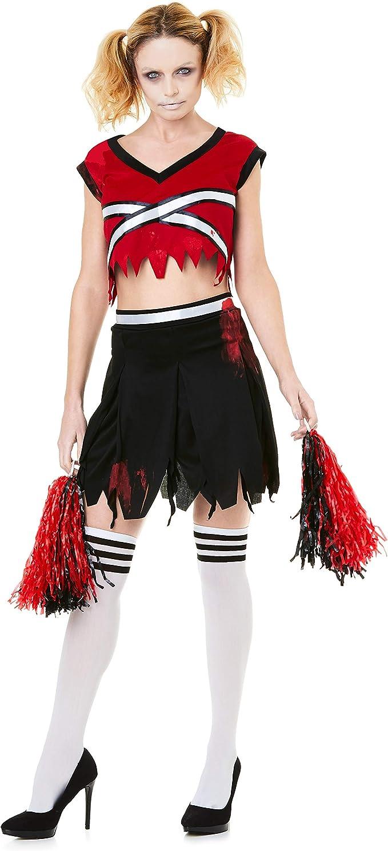 Disfraz de Animadora Zombie para Mujer – Halloween – Bailarina con ...