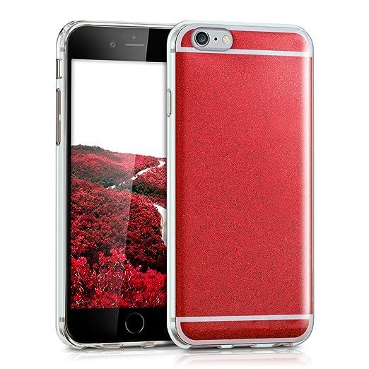 526 opinioni per kwmobile Cover per Apple iPhone 6 / 6S- Custodia in silicone TPU- Back case
