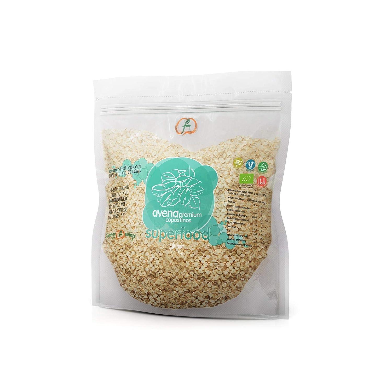 Copos de Avena ECO sin gluten Energy Feelings 500 g: Amazon ...