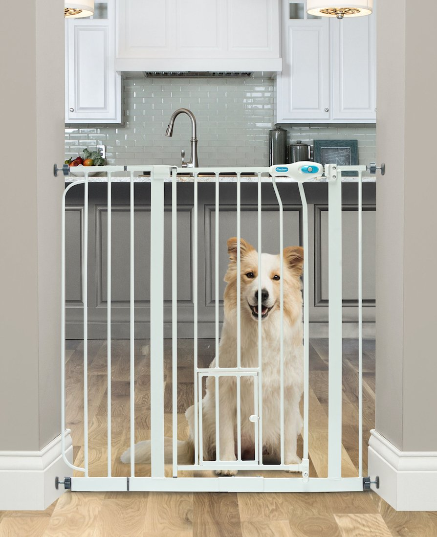 Amazon Carlson Extra Wide Walk Through Pet Gate With Small Pet