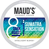 Maud's Dark Roast Sumatra Coffee (Sumatra Sensation), 100ct. Recyclable Single Serve Single Origin Dark Roast Coffee Pods – 1