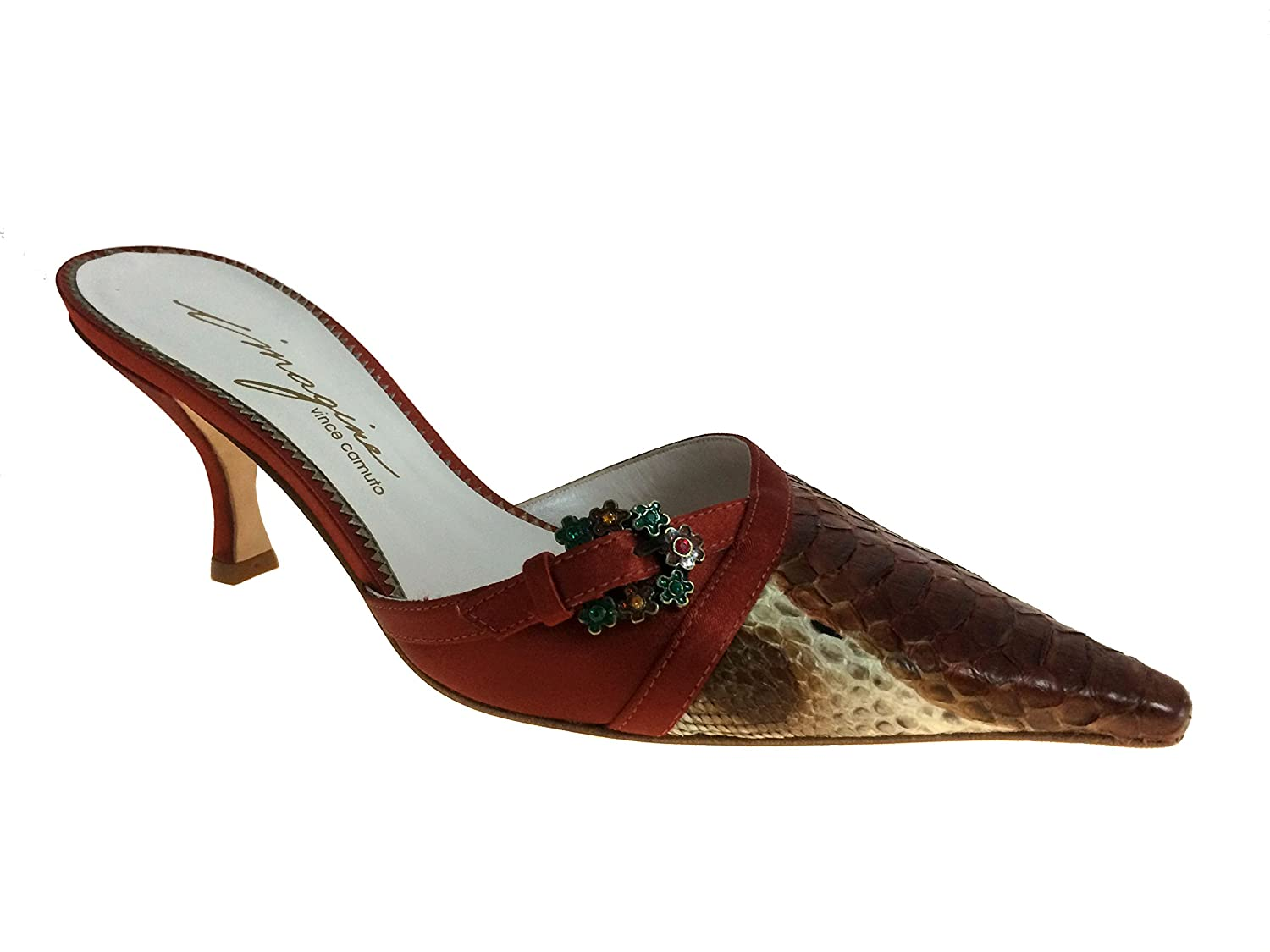 Imagine Vince Camuto Rochelle Brick Snake Womens Shoes Size 6