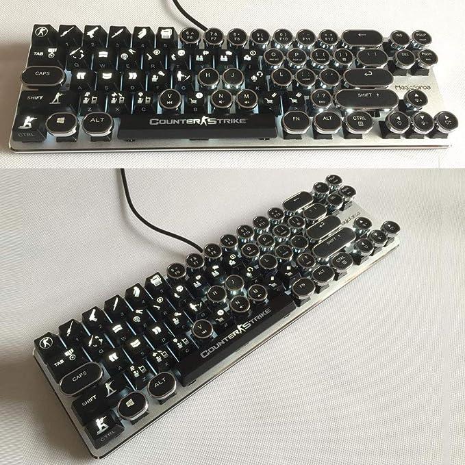Keycaps 30 teclas ABS retroiluminado para OEM Cherry MX ...
