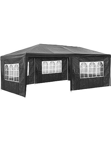 TecTake Carpa pabellón tiendas de para eventos y fiestas jardin 3x6 m | - disponible en