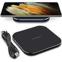 Nauci QI Draadloos laadstation compatibel met Samsung Galaxy S21 Ultra 5G draadloze oplader inductieve universele…