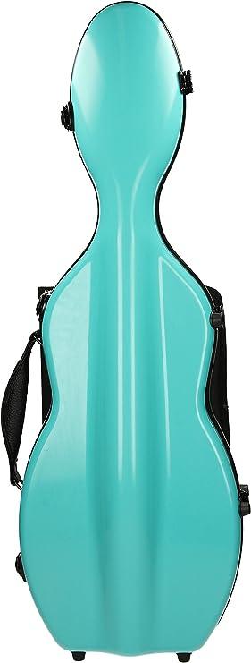 Estuche para violín Fibra de vidrio Ultra Light 4/4 limón M-Case: Amazon.es: Instrumentos musicales