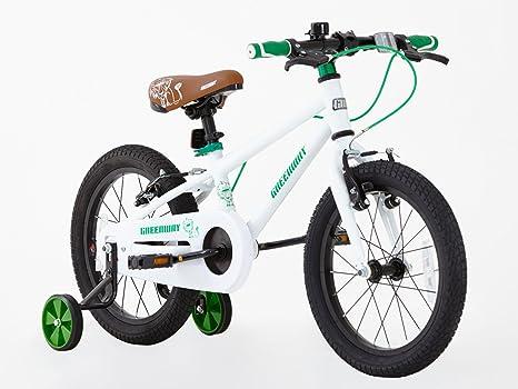 Greenway - Bicicleta con Ruedas de Apoyo, Para NiÑOs, Marco de ...