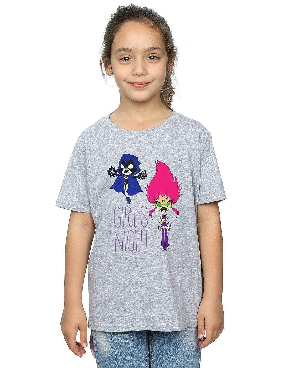 DC Comics Girls Teen Titans Go Girls Night T-Shirt