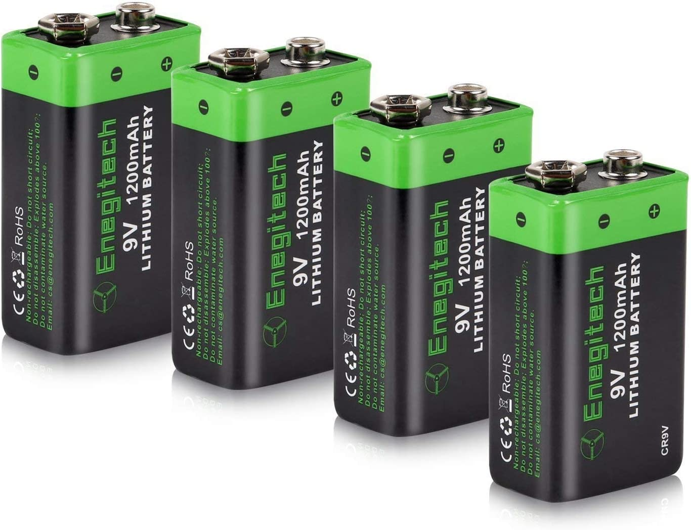 Firechief 9 V Batterie Détecteur de fumée