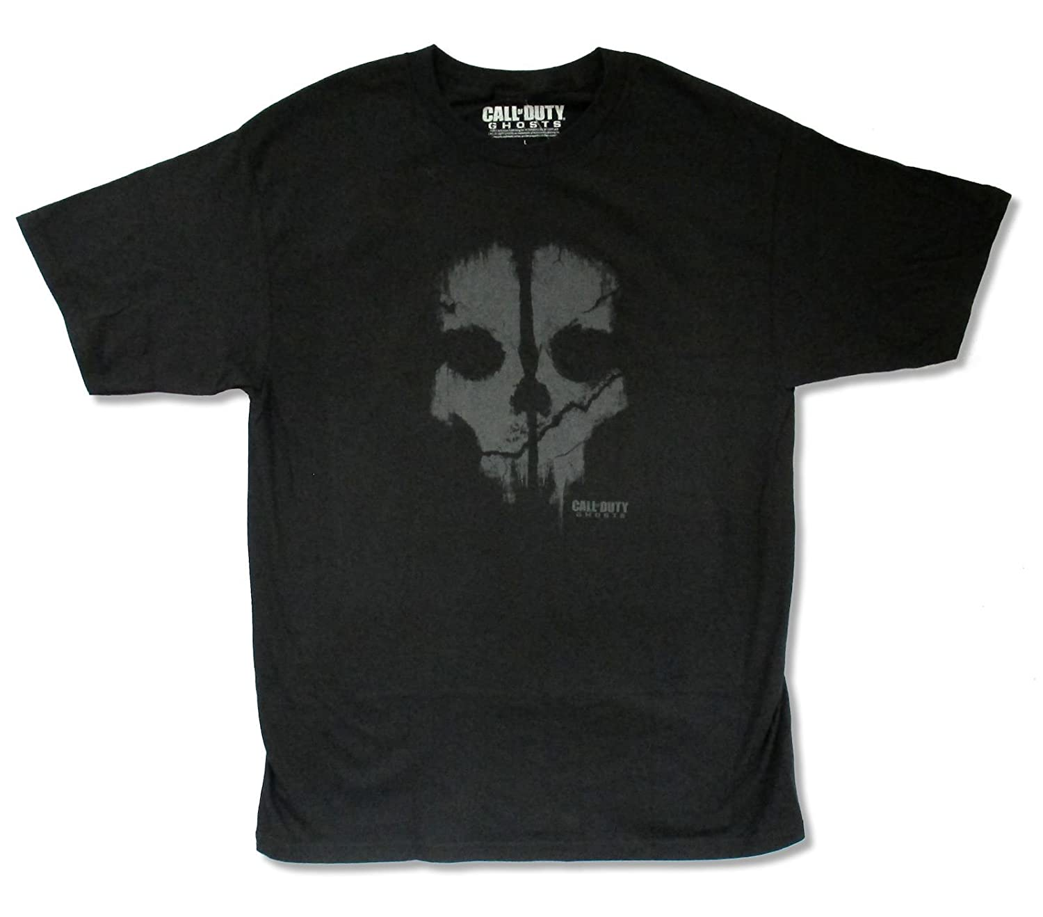 Call of Duty Skull Black T Shirt