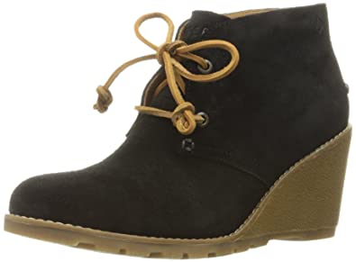 081af2d9edf SPERRY Women s Stella Prow Black Ankle Bootie 5 M US