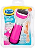 Scholl Velvet Smooth Express Pedi Diamond Crystals Electronic Foot File Kit, Pink