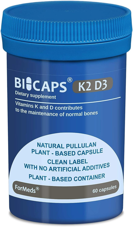 ForMeds BiCaps Vitamin K2 D3 60 Capsules - Vegan