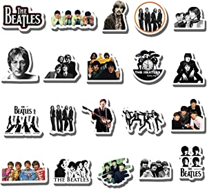 20 PCS Stickers Pack Beatles Aesthetic Vinyl Colorful Waterproof for Water Bottle Laptop Scrapbooking Luggage Guitar Skateboard