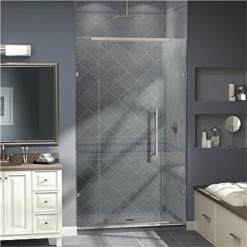 Vitreo Pivot Shower Door Opening Width 58u0026quot; x 76u0026quot; Trim Finish & Amazon.com: Vitreo Pivot Shower Door Opening Width: 58