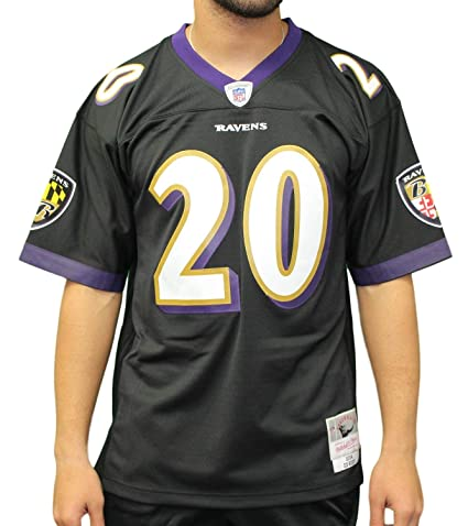 Mitchell   Ness Ed Reed Baltimore Ravens NFL 2004 Throwback Premier Jersey  (Large) 1b6bd3c2a