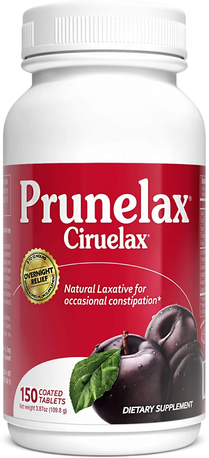 Prunelax Tablets, 150 Count