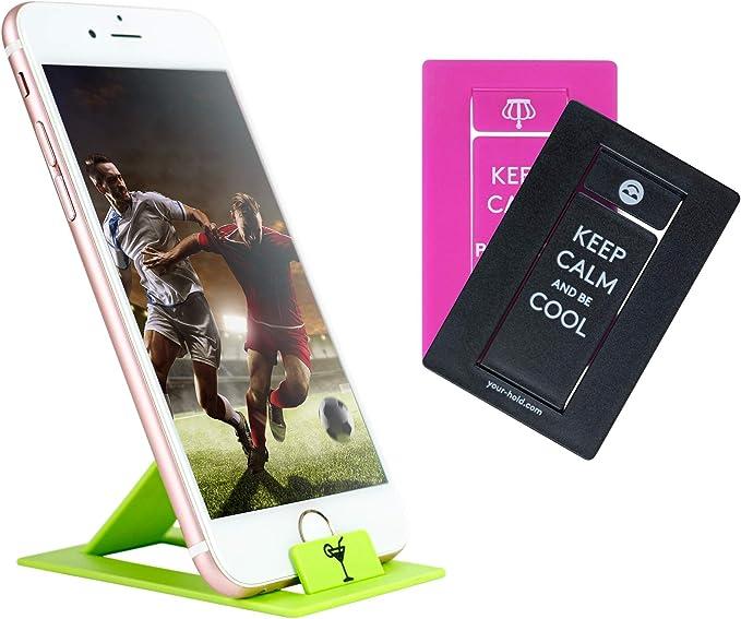 Juego de 3 Soportes para Smartphone en Formato de Tarjeta de ...