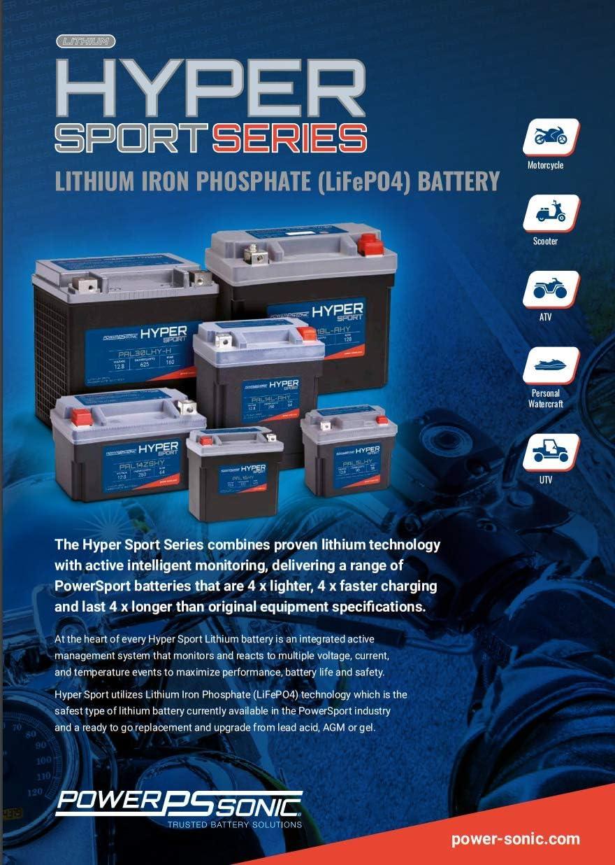 PAL14-AHY Power Sonic Hyper Sport Lithium