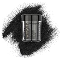 Stargazer Glitter Shaker, Onix. Cosmetic Glitter Powder for use on The Eyes, Lips, face, Body, Hair and Nails.