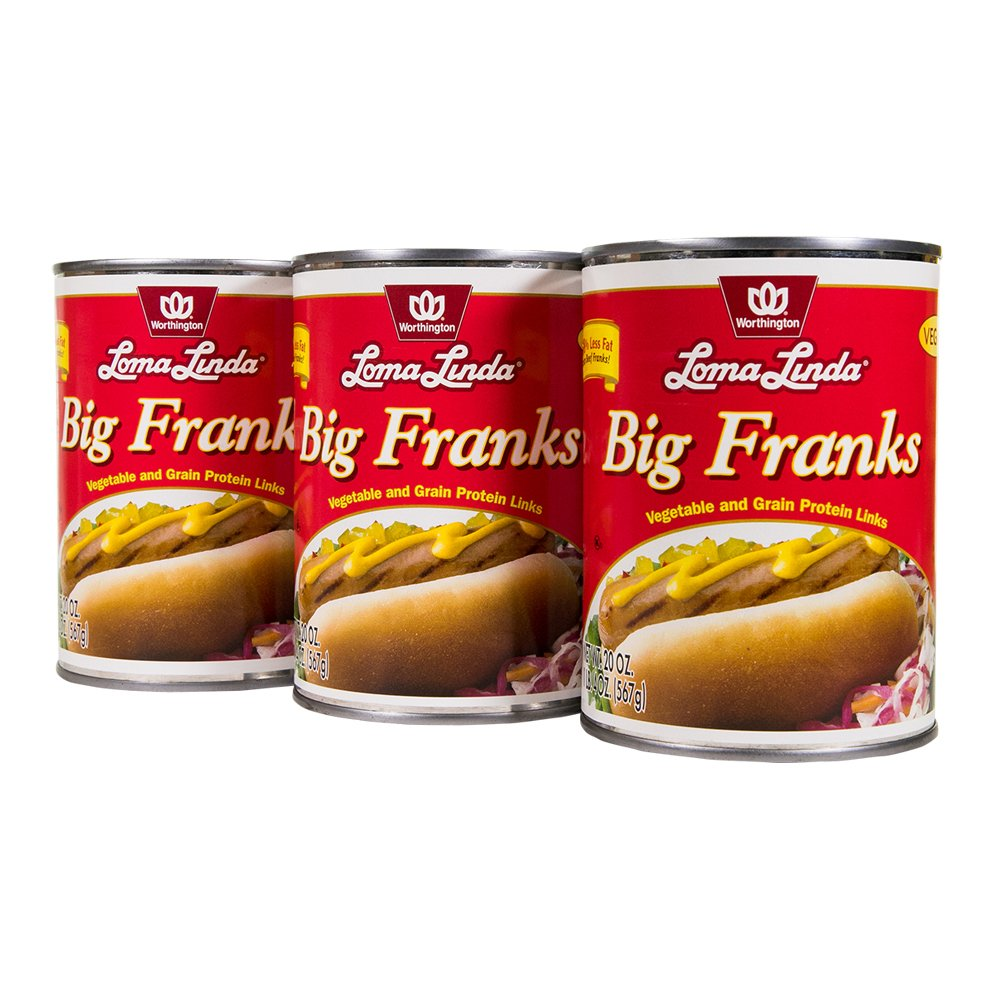 Loma Linda Big Franks (20 oz.) (Pack of 3)