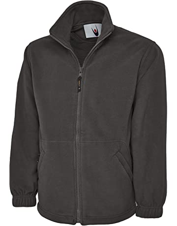 7fd567fee2d6 Uneek Premium Full Zip Micro Fleece Jacket Mens 380 GSM - 7 Colours  Available