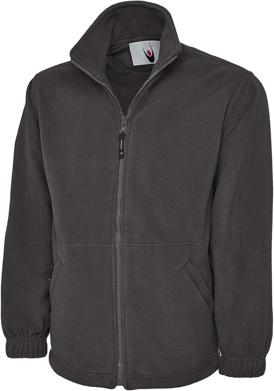 UC601 Uneek 380 GSM Premium Full Zip Micro Fleece Jacket