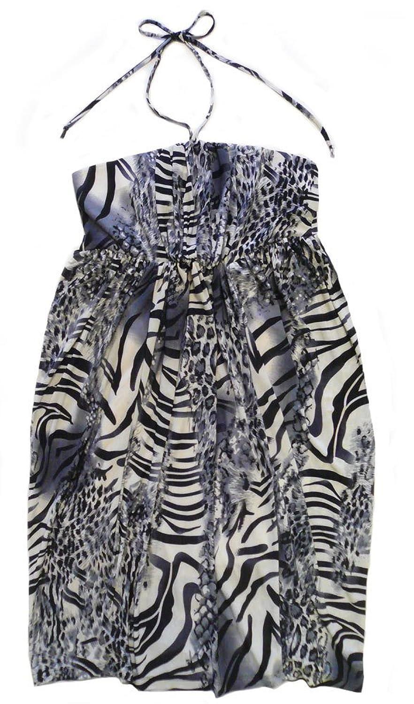 Mina Escapade Dress Animal Print gekennz. S / M/L)