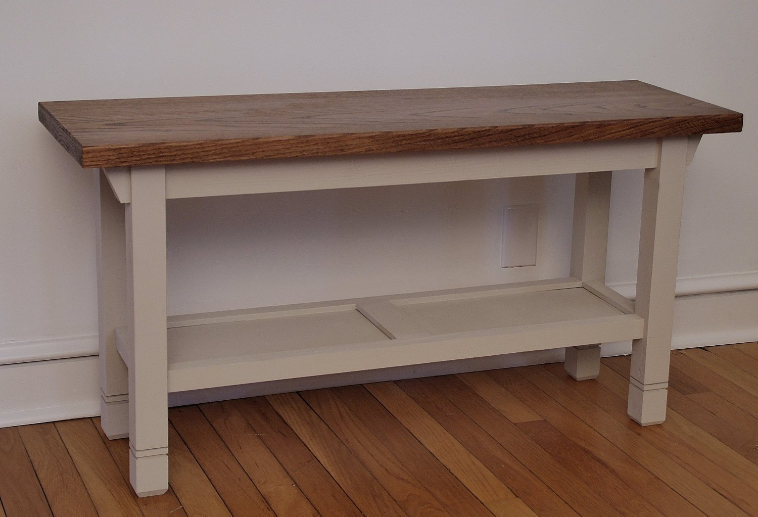 Hallway / Mud Room / Foyer Bench In Your Choice Of Color And Size 30'' - 46''