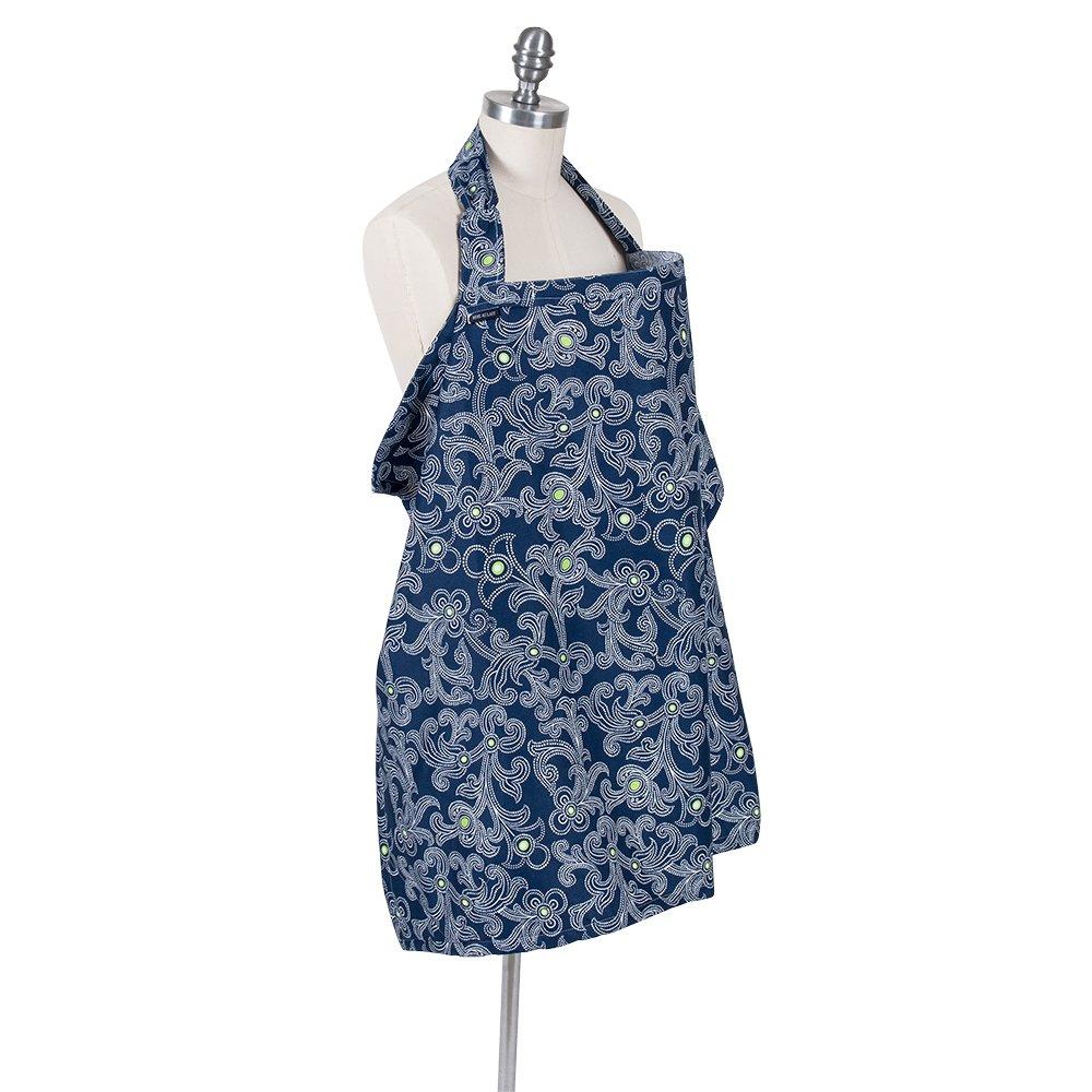 Bebe au Lait Premium Cotton Nursing Cover, Calypso