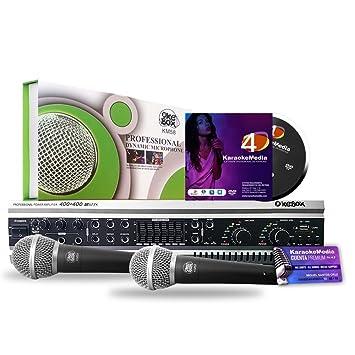 Equipo de Karaoke Profesional KaraokeMedia MPACK